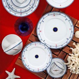24dílná sada porcelánového nádobí Kutahya Panetio