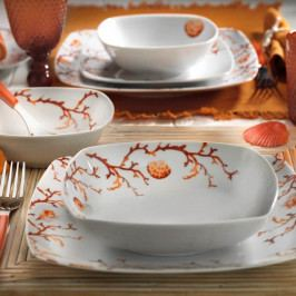 24dílná sada porcelánového nádobí Kutahya Balivo