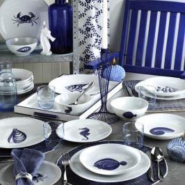 24dílná sada porcelánového nádobí Kutahya Faklia