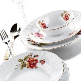 24dílná sada porcelánového nádobí Kutahya Merto