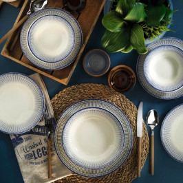 24dílná sada porcelánového nádobí Kutahya Wunero
