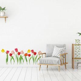 Sada samolepek na zeď Ambiance Wild Tulips