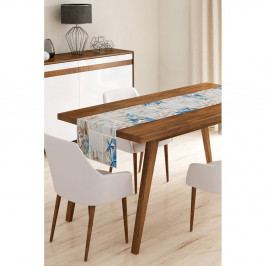 Běhoun na stůl z mikrovlákna Minimalist Cushion Covers Sea Life, 45x145cm