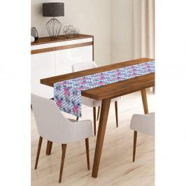 Běhoun na stůl z mikrovlákna Minimalist Cushion Covers Flamengo Salsa, 45x145cm
