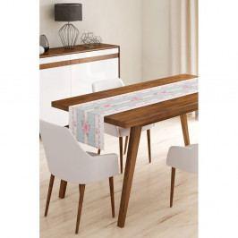 Běhoun na stůl z mikrovlákna Minimalist Cushion Covers Romantic, 45x145cm