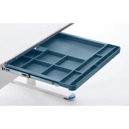 Modrá přídavná zásuvka k psacímu stolu Flexa Evo