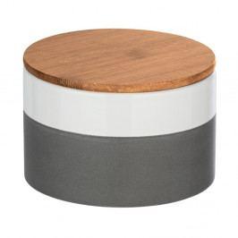 Keramický úložný box s bambusovým víkem Wenko Malta, 750ml