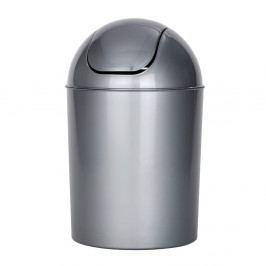 Šedý odpadkový koš Wenko Swing