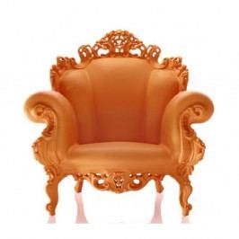 Oranžové křeslo Magis Proust