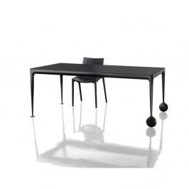 Černý jídelní stůl Magis Big Will, délka 240cm
