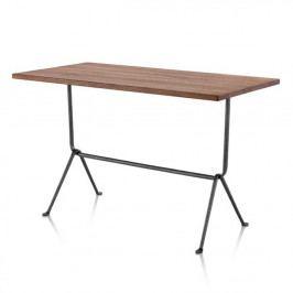Jídelní stůl s deskou z ořešákového dřeva Magis Officina,délka80cm