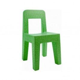 Zelená dětská židle Magis Seggiolina Pop
