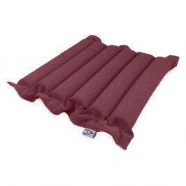 Červeno-fialový sedací polštářek s masážními míčky Linda Vrňáková Waves, 50x50cm
