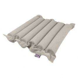 Světle šedý sedací polštářek s masážními míčky Linda Vrňáková Waves, 50x50cm