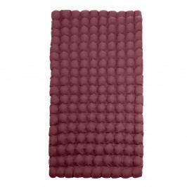 Červeno-fialová relaxační masážní matrace Linda Vrňáková Bubbles, 110x200cm