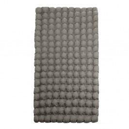 Šedomodrá relaxační masážní matrace Linda Vrňáková Bubbles, 110x200cm
