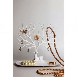 Bílý stojánek na šperky Qualy&CO My Little Deer