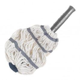 Bílo-šedá hlavice na mop z mikrovlákna Addis Twist