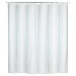Bílý sprchový závěs Wenko Palais, 180 x 200 cm