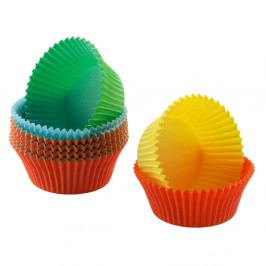 Sada 150 barevných papírových košíčků na mini muffiny Kaiser
