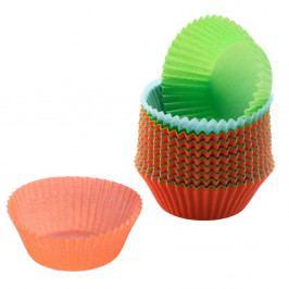 Sada 150 barevných papírových košíčků na muffiny Kaiser