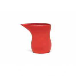 Červená kameninová mléčenka Kähler Design Ursula, 280 ml