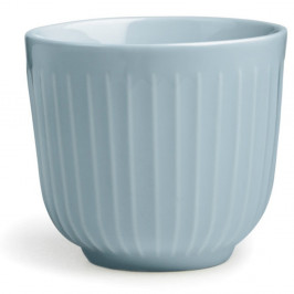 Světle modrý porcelánový hrnek Kähler Design Hammershoi, 200 ml