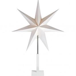 Bílá světelná dekorace Markslöjd Duva, výška 106cm