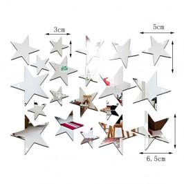 Sada 20 zrcadlových samolepek Ambiance Stars