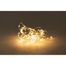 Světelný řetěz na baterie s LED žárovkami Luuka, 60 světýlek