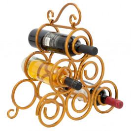 Stojan na víno ve zlaté barvě Mauro Ferretti
