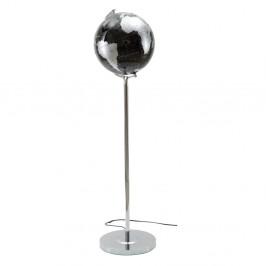 Stolní lampa v černo-stříbrné barvě Mauro Ferretti Da Terra, výška130cm