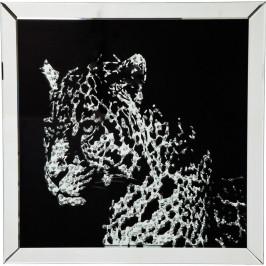 Obraz v rámu Kare Design Leopard