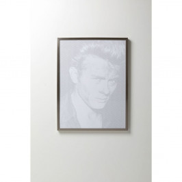 Obraz v rámu Kare Design Idol Pixel James, 104 x 79 cm