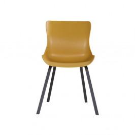 Sada 2 žlutých zahradních židlí Hartman Sophie Element
