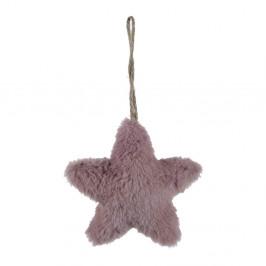 Závěsná látková ozdoba ve tvaru hvězdy Ego Dekor, malá