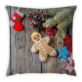 Povlak na polštář Vitaus Christmas Period Cookie, 43 x 43 cm