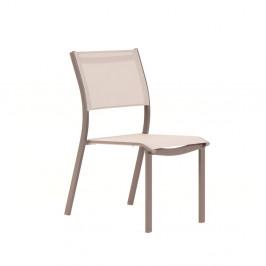 Sada 4 béžových zahradních židlí Ezeis Zephyr
