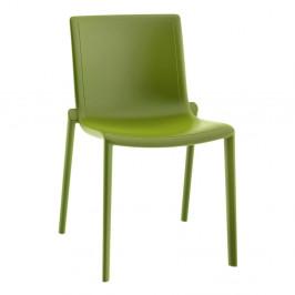 Sada 2 olivově zelených zahradních židlí Resol Kat