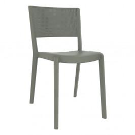 Sada 2 šedohnědých zahradních židlí Resol Spot