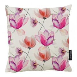Polštář Butter Kings z bavlny Pink Tulips, 50 x 50 cm