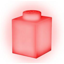 Červené silikonové noční světýlko LEGO® Classic Brick