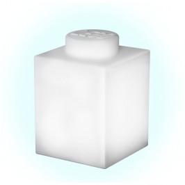 Bílé silikonové noční světýlko LEGO® Classic Brick