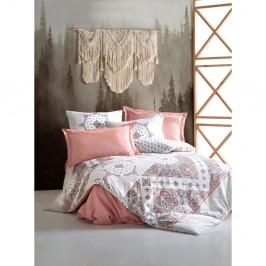 Bavlněné povlečení s prostěradlem Cotton Box Riva, 200 x 220 cm