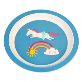 Dětský talíř z bambusu Rex London Magical Unicorn