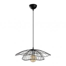 Černé závěsné svítidlo Opviq lights Tel, ø 50 cm