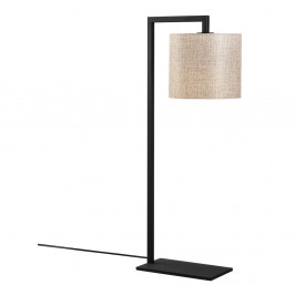 Černo-béžová stolní lampa Opviq lights Profil
