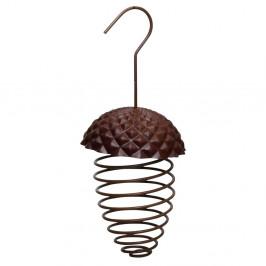 Kovové zásvěsné krmítko na lojovou kouli pro ptactvo Esschert Design
