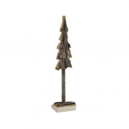 Dřevěná dekorace ve tvaru stromku Ego Dekor, výška 44cm