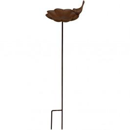 Litinové pítko pro ptáčky se zápichem Esschert Design, výška91cm